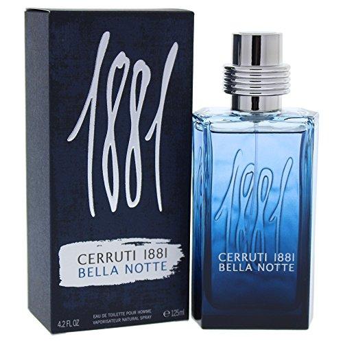 Cerruti 1881 Bella Notte - Profumo Eau de Toilette spray da uomo, flacone da 125ml