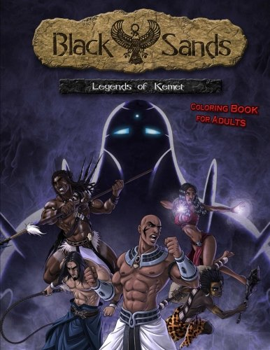 Black Sands – The Coloring Book for Adults: Legends of Kemet
