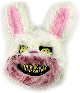 Cosplay Scary Rabbit Mask for Adults Party Decoration Creepy Props