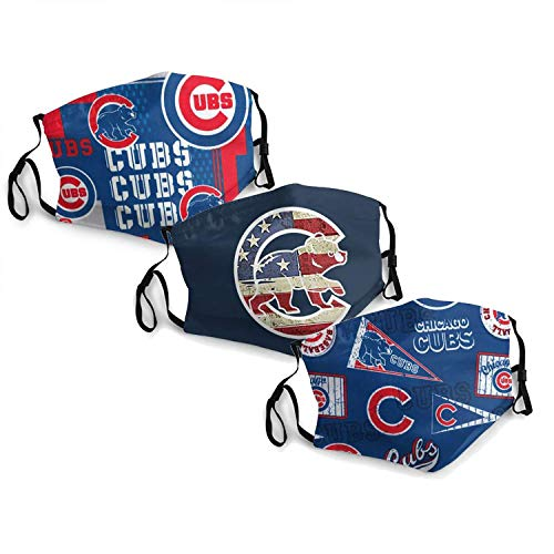 MLB Chicago Cubs Adult Dust Mask,Dust Air Filter Protection