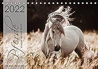 Spiegel deiner Seele (Tischkalender 2022 DIN A5 quer): Lassen Sie sich entfuehren in die Faszinierende Welt der Pferde (Monatskalender, 14 Seiten )