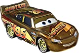 Cars Rayo McQueeen Dorado Coche de juguete personaje, regalo para niños +3 años (Mattel GYG27)