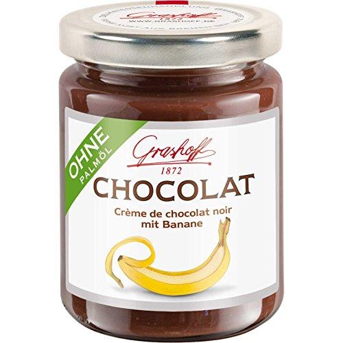Grashoff CHOCOLAT Schoko-Creme mit Banane 250 g