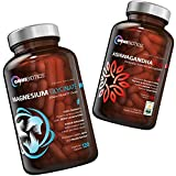 The Stress Relief & Energy Support Care Package - OmniBiotics Certified Organic Ashwagandha + Magnesium Glycinate for Daily Support