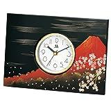 パネル時計 富士さくら <富士山> M15037-7