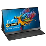 Portable Monitor 4K, EVICIV Upgraded 15.6 Inch Gaming Monitor UHD 3840 x 2160