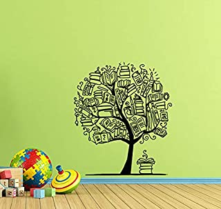 Books Tree Wall Decal Book Wall Decor Classroom Wall Decal Library Wall Decal Teacher Gift Education Vinyl Sticker Library Print Science Wall Art Kids School Wall Decor Book Poster 932