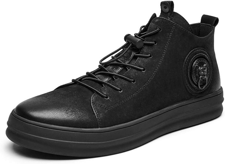 WLFHM Herren- Leder- Business-Schuhe Kleid Schuhe Herrenschuhe Freizeitschuhe