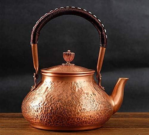 Funmaker Handmade Solid Copper Dedication Tea Now on sale Pot Teapot Th Kettle Stovetop