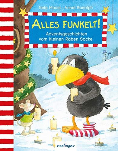 Der kleine Rabe Socke: Alles funkelt!: Adventsgeschichten vom kleinen Raben Socke