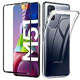 Lifeacc für Samsung Galaxy M51 Hülle & 3D Panzerglas