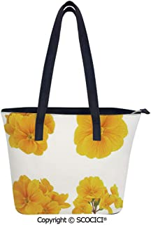 SCOCICI Gardening Themed Collection Fashionable Women Leather Handbags