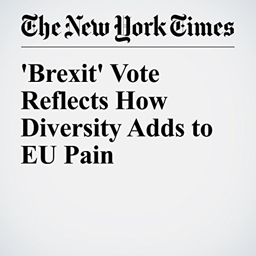 'Brexit' Vote Reflects How Diversity Adds to EU Pain audiobook cover art