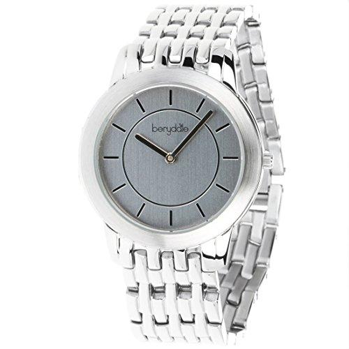 Berydale Damen Armbanduhr mit Metall-Gliederband  und Quarzwerk, BD702-1