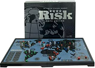 Risk Onyx Edition The Game of Strategic Conquest by Parker Brothers