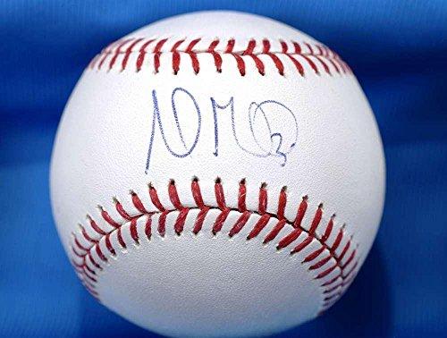 Andrew Miller Mlb Coa Hand Signed Major League Autograph Baseball Indians - Autographed Baseballs