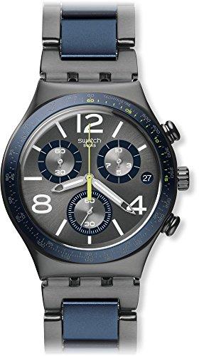 Swatch YCM4006AG - Reloj, Correa de Aluminio