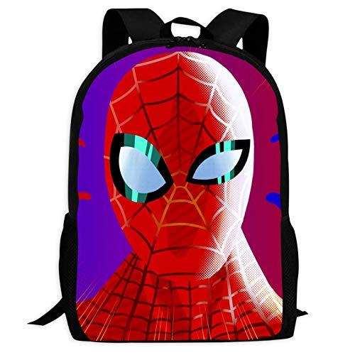 Spider Hero (5) Mochilas para portátil con impresión 3D para niños y niñas