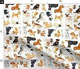 Hund, Labrador, Corgi, Rottweiler, Mops, Beagle, Dalmatiner