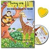 Moro und Lilli Band 1 - die Gitarrenschule für Kinder von 6 bis 10 Jahre von Gerhard Koch-Darkow - kindgerechter Aufbau, großes Notenbild - Melodie und Akkordspiel - mit bunter herzförmiger Notenklamm
