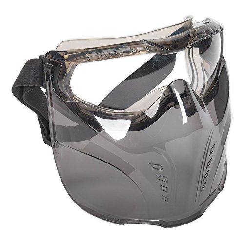 SEALEY ssp76Schutzbrille mit abnehmbarem Face Shield