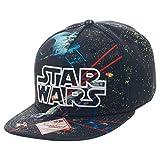 Star Wars Battle Scene Snapback Hat Cap New Licensed Black