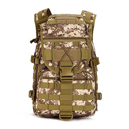 YFNT Mochila Militar al Hombro  40L  táctico  Asalto  Impermeable