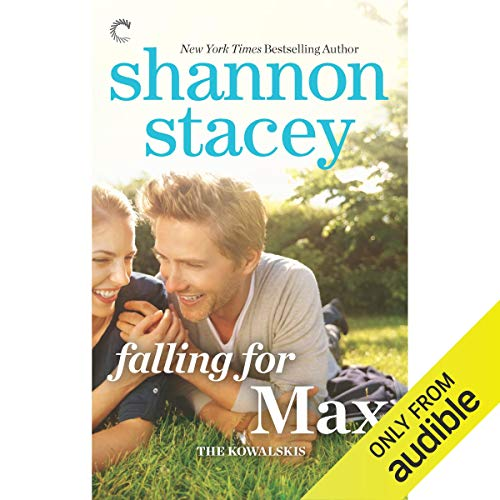 Falling for Max audiobook cover art