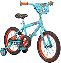 Pacific Outer Space Character Kids Bike, 16-Inch Wheels, Ages 3-5 Years, Coaster Brakes, Adjustable Seat, Blue, one Size
