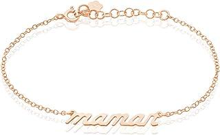Rendez-vous RueParadis Paris Bracelet Chaîne Femme Argent Rosé - Bijoux Femme Idée Cadeau