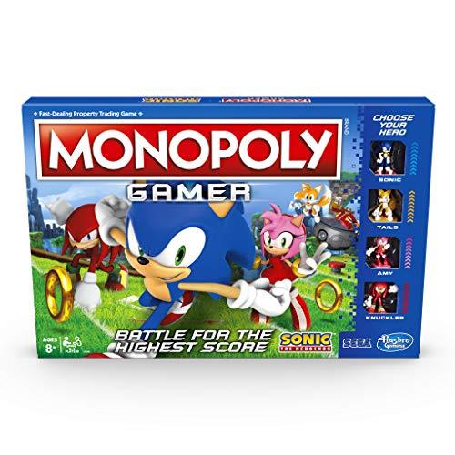 ENG Monopoly Sonic Gamer - E8396