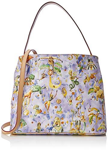 piero guidi Hobo Bag, Borsa a Spalla Donna, Blu (Cielo), 31,5x30x14,5 cm (W x H x L)