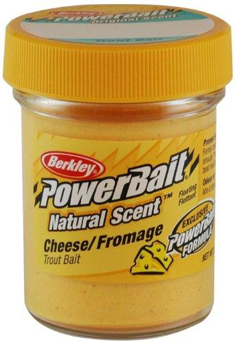 Berkley PowerBait Natural Scent Trout Bait Cheese, 1 pack