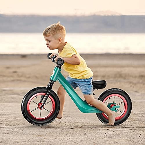 tquuquu Scooter De Equilibrio para Niños, Scooter De Equilibrio De Carreras Profesional Sin Pedales Scooter De 2-6 Años Bicicleta para Niños Pequeños