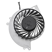 Richer-R CPU冷却ファン 高品質交換部品内部CPU冷却ファン バランス高め PS4-1000ゲームコンソールに対応 安定性