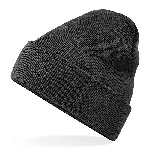 4X Premium Wintermütze Mütze schwarz Beanie für Winter, Strickmütze, Seemannsmütze, Docker Cap, Herrenmütze, Wollmütze Herren & Damen, Unisex von TK Gruppe (4X Wintermütze)