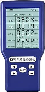 Luchtkwaliteit Monitor, Formaldehyde Detector, Luchtkwaliteit Detector, Digitale Lcd scherm Gas Analyzer Monitor Air Quali...