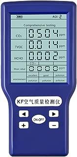 SOULONG Medidor de CO2 Profesional Medidor de Aire Pl/ástico Medidor de CO2 Mete con Pantalla LCD Grande Tecnolog/ía de Onda NDIR con ABC