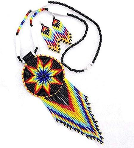 Handmade Beaded Indian Fashion Jewelry Women's...