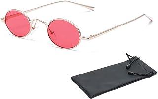 414fa306ff Gafas de sol ovaladas de Aolvo, pequeñas, unisex, estilo retro y vintage,