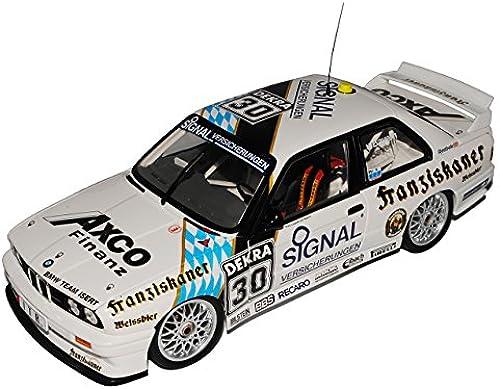 Unbekannt B-M-W 3er E30 M3 Team Isert Prinz Leopold von Bayern Norisring DTM 1991 1 18 Minichamps Modell Auto