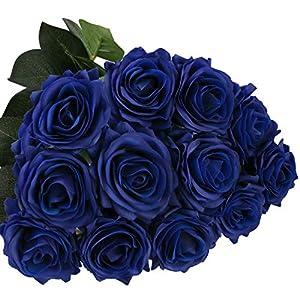 DIGIROOT Artificial Flowers 12 Pcs …