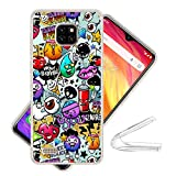 HYMY Case Cover for Ulefone Note 7 - Transparent Cute Clear