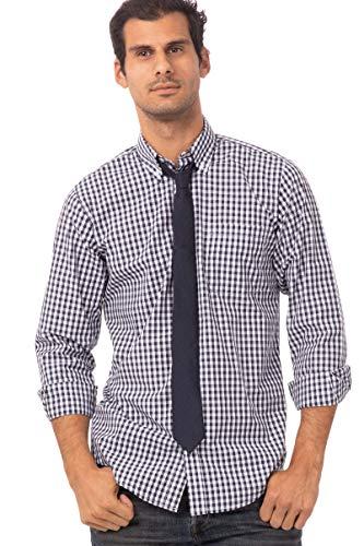 Chef Works Unisex-Erwachsene Urban Solid Color Neck Ties Krawatte, Navy, Einheitsgröße