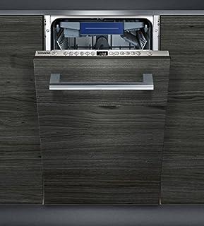 Siemens iQ300 SR636X01ME lavavajilla Totalmente integrado 10 cubiertos A+ - Lavavajillas (Totalmente integrado, Estrecho (45 cm), Acero inoxidable, Botones, 1,75 m, 1,65 m)