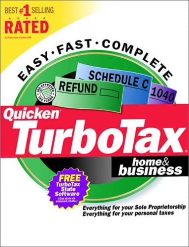 Quicken TurboTax Home Business Tax Year 2000 product image