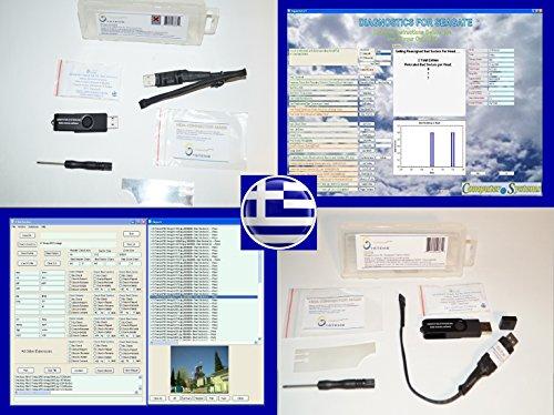 CS Labs Herramientas y Software de recuperación de Datos Establecido FW-FXR DFS FileChecker Seagate SATA