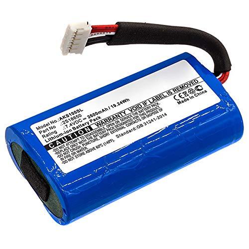 subtel® Qualitäts Akku kompatibel mit Anker SoundCore Boost - 2S18650 (2600mAh) Ersatzakku Batterie