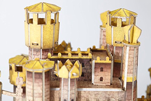 4D Cityscape Game of Thrones (GoT) 3D Puzzle of King's Landing (260-Piece)