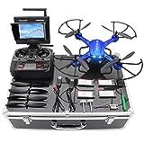 Drone con Telecamera HD 2MP Potensic Drone RC FPV FPV LCD Monitore a Schermo...